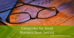 Small business goal setting categories