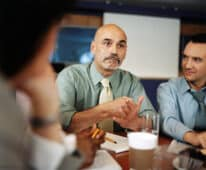 Mastermind group talking facilitation
