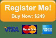 Register Me! Buy Now: $249