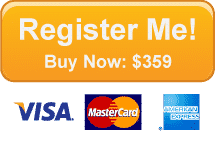 Register Me! Buy Now: $359