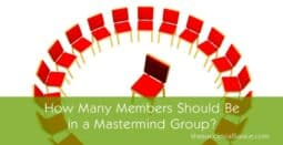 How big should a mastermind group size be