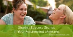 Mastermind Group Sharing Success Stories