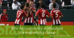Why accountability is important in a mastermind group