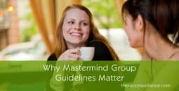 Mastermind group rules and guidelines